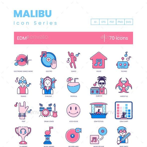 EDM Icons - Malibu Series