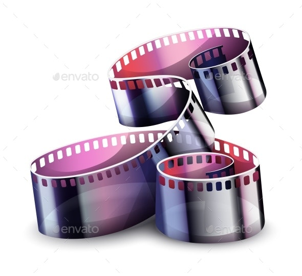 Movie Cinema Film Reel - Miscellaneous Vectors
