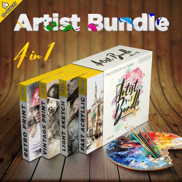 Artist 4 in 1 Bundle vol.4