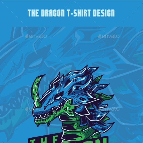 The Dragon T-Shirt Design