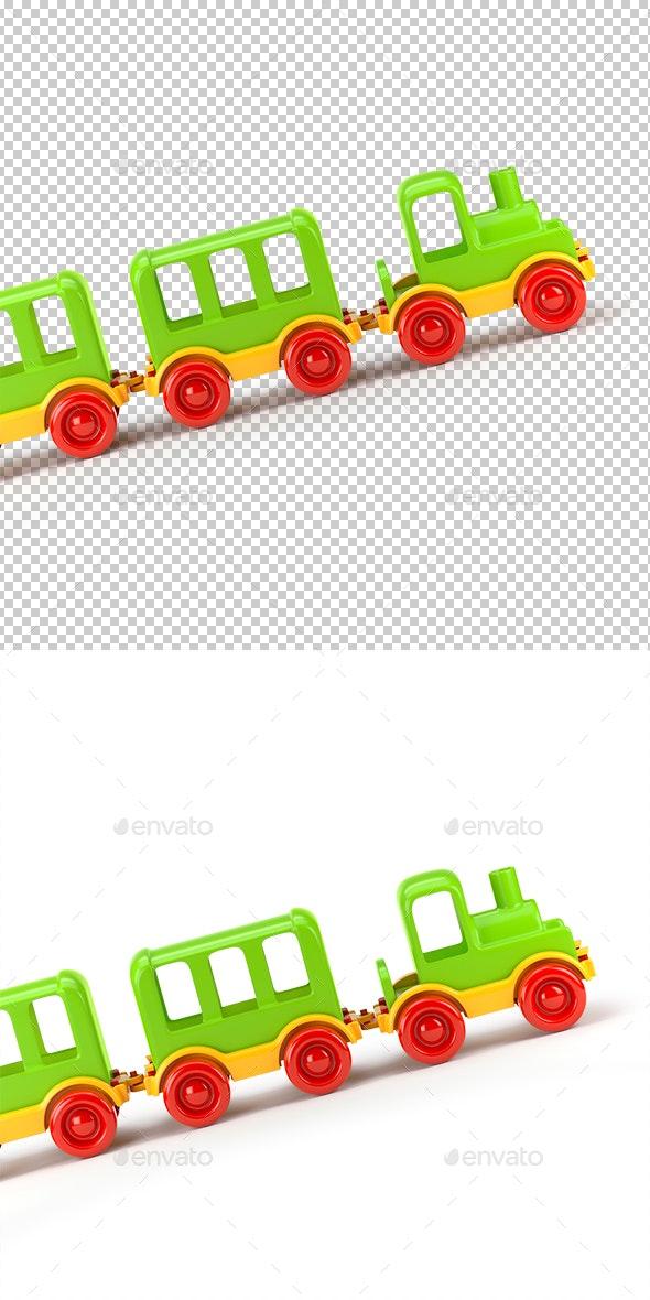 Train Toy - Objects 3D Renders