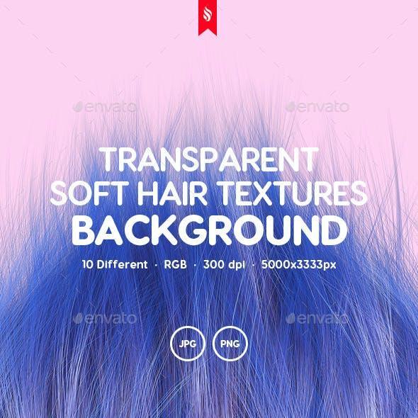 10 Transparent Soft Hair Backgrounds