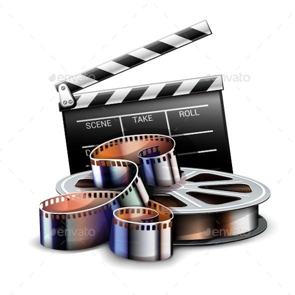Online Cinema Art Movie Poster Design