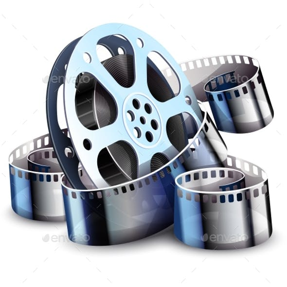 Film-Strip for Cinema Motion Picture Production