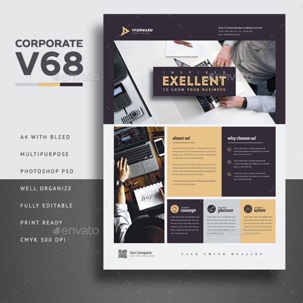 Corporate V68 Flyer