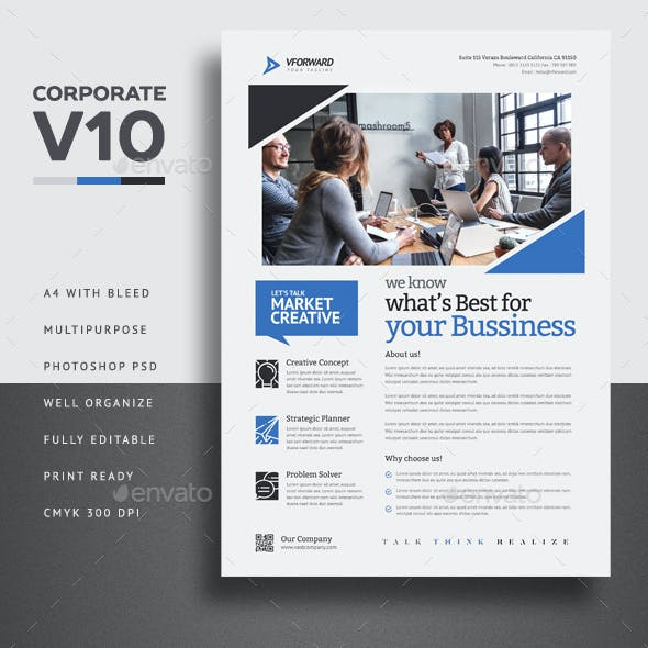 Corporate V10 Flyer