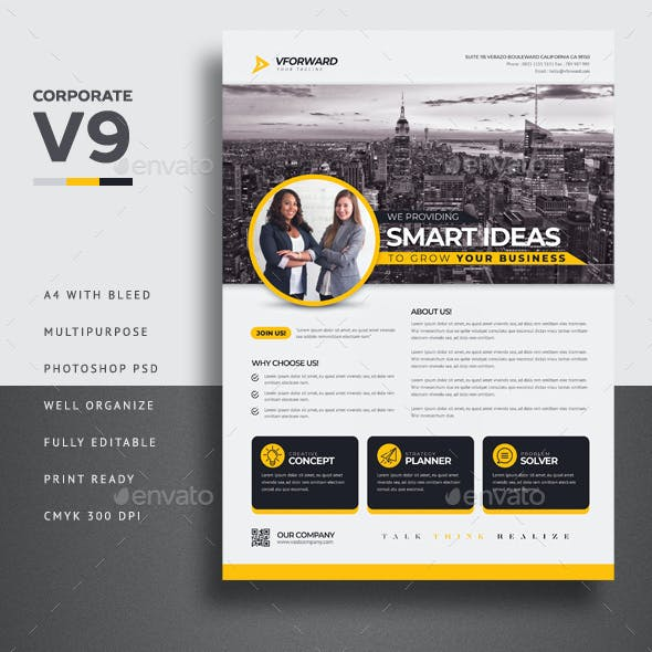 Corporate V9 Flyer