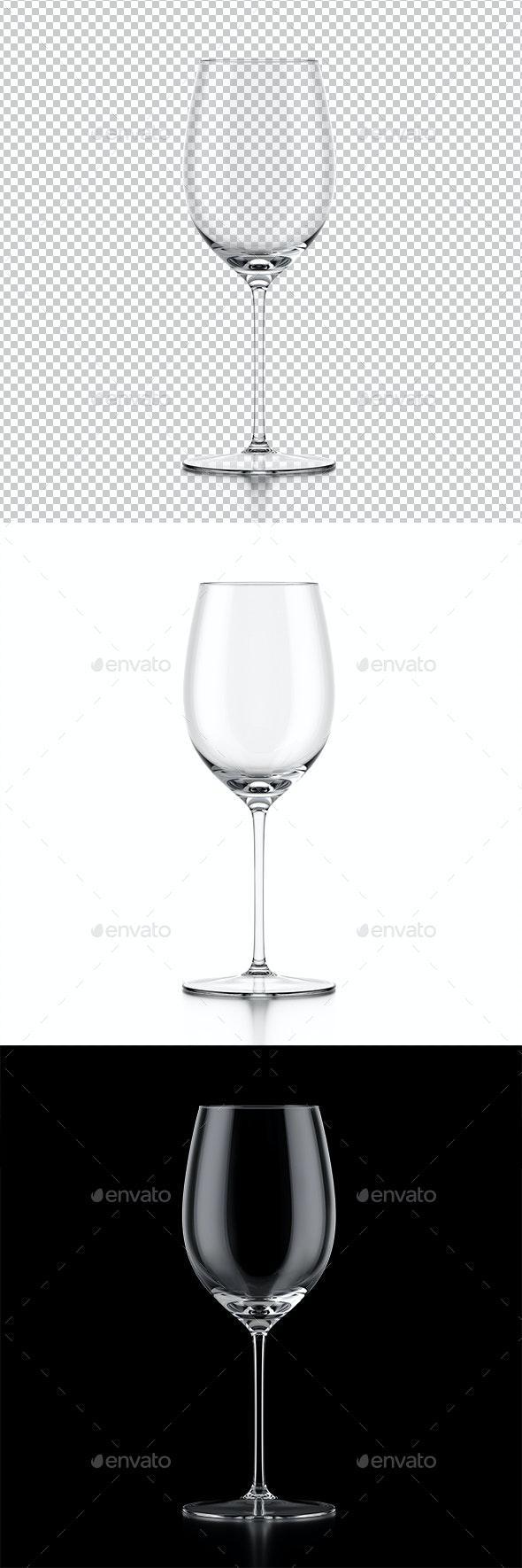 Wine Glass - Objects 3D Renders