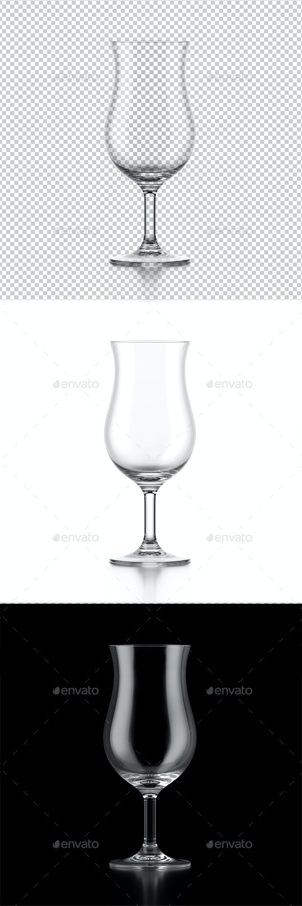Cocktail Glass - Objects 3D Renders