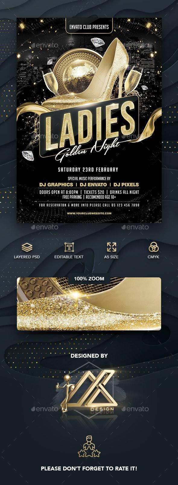 Ladies Golden Night - Clubs & Parties Events