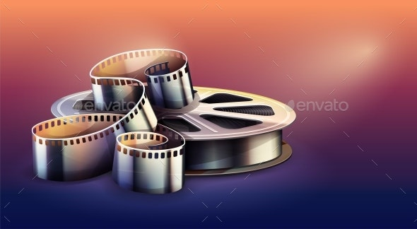 Film-Strip for Cinema Motion Picture Production - Man-made Objects Objects