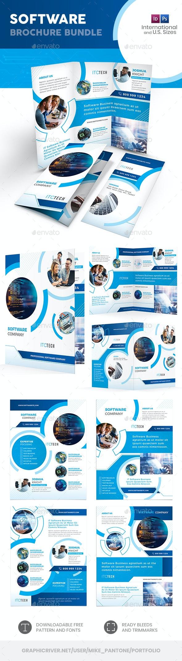 Software Print Bundle 10 - Informational Brochures