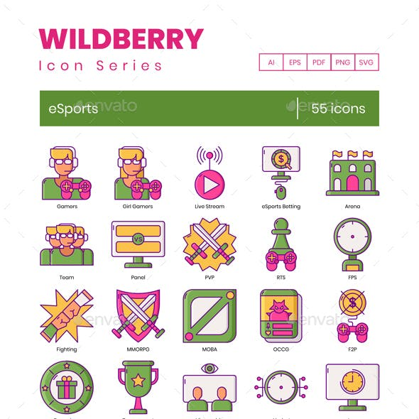 eSport Icons – Wildberry Series