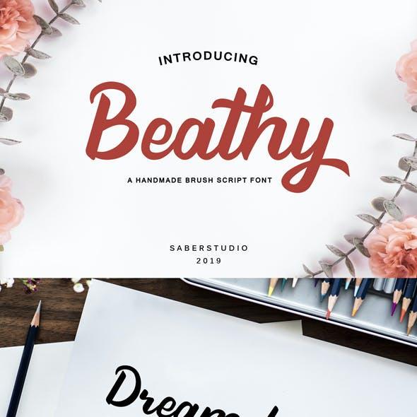 Beathy Script