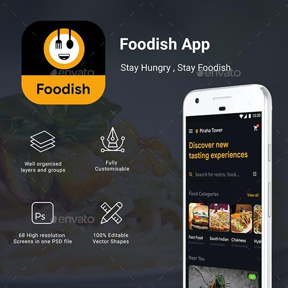 All in1 Food App | Food Ordering, Restaurant & Delivery App UI Kit | Foodish