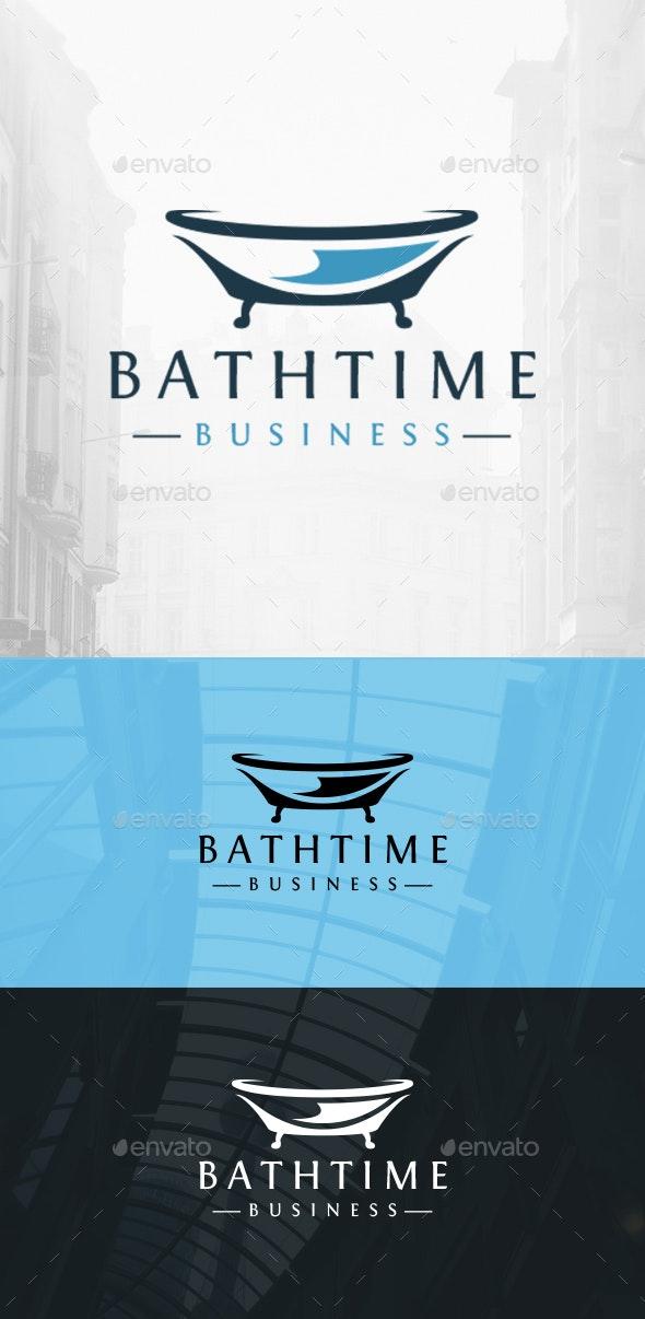 Bath Modern Logo - Objects Logo Templates
