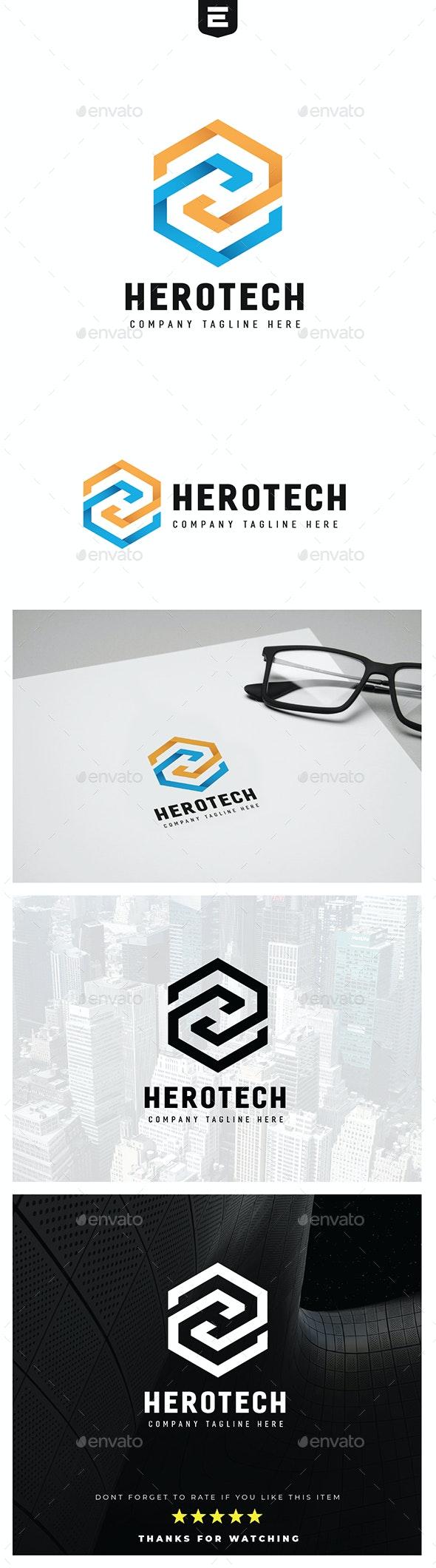 Letter H Hexa Logo - Letters Logo Templates