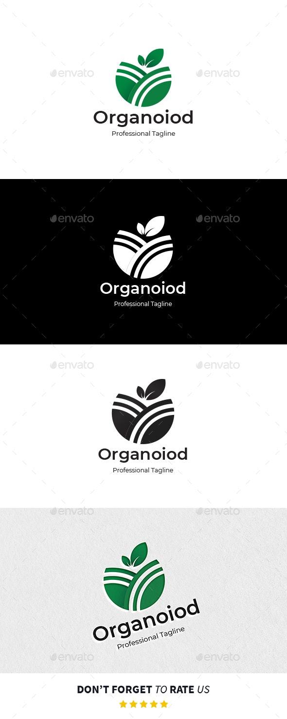 Organoiod Logo Template - Food Logo Templates