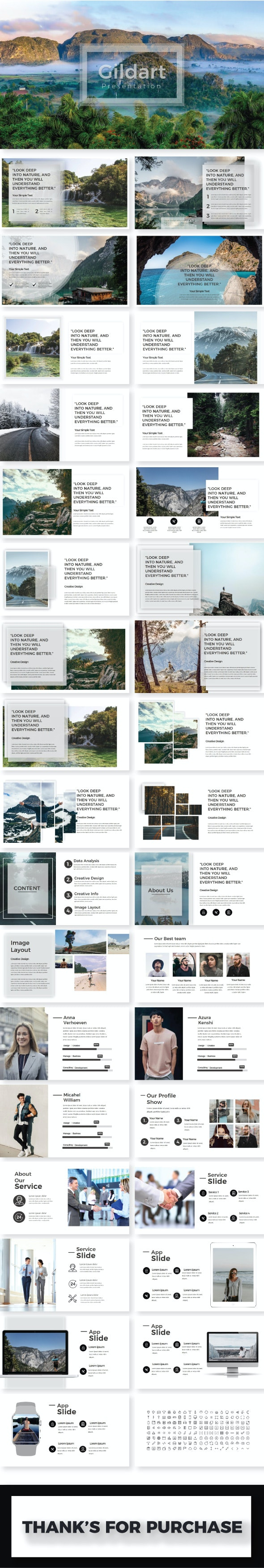 Gildart Keynote Template - Creative Keynote Templates