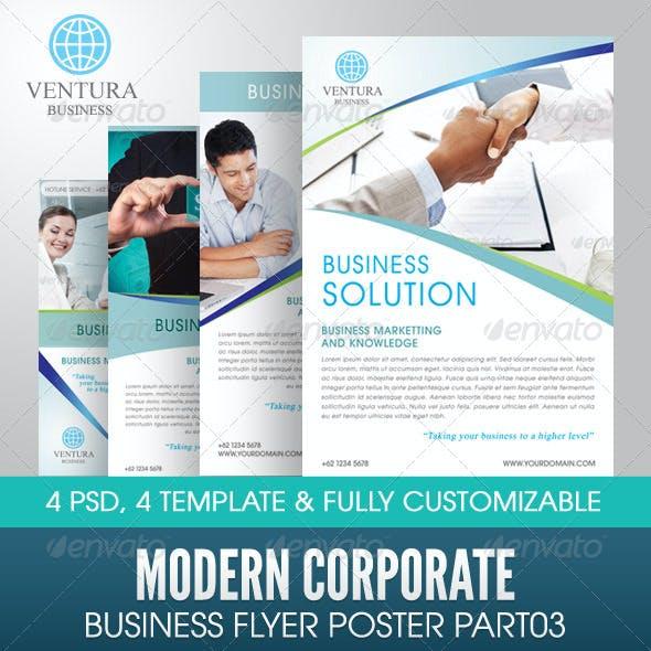 Modern Corporate Business Flyer Poster Part 03