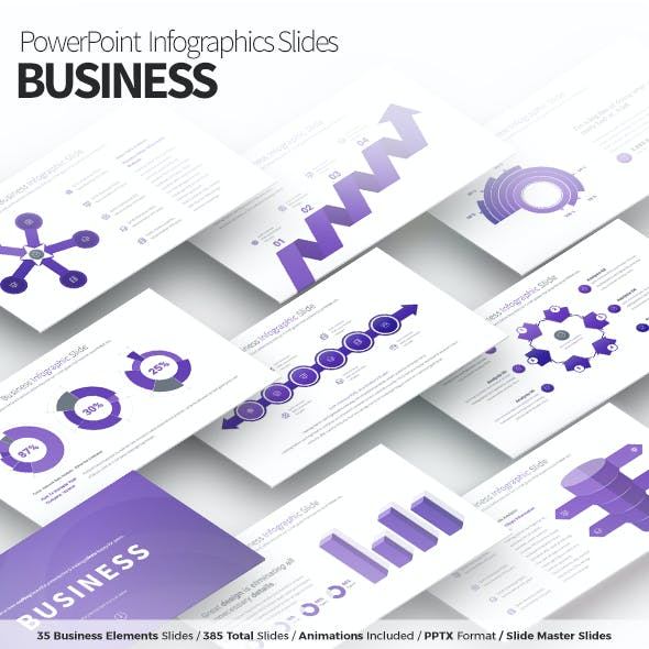 Business - PowerPoint Infographics Slides