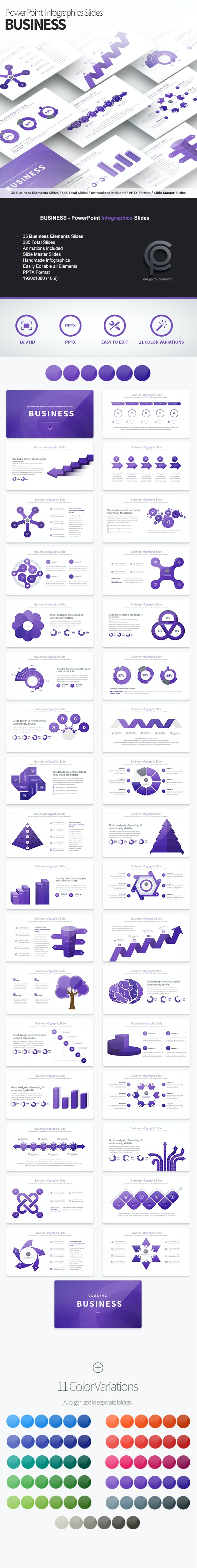 Business - PowerPoint Infographics Slides - Business PowerPoint Templates