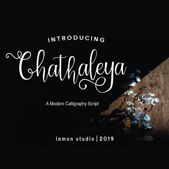 Chathaleya - Hand-writing Script