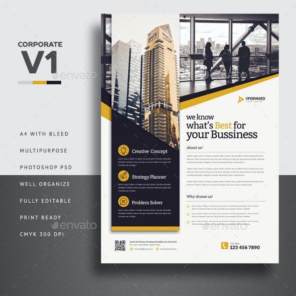 Corporate V1 Flyer
