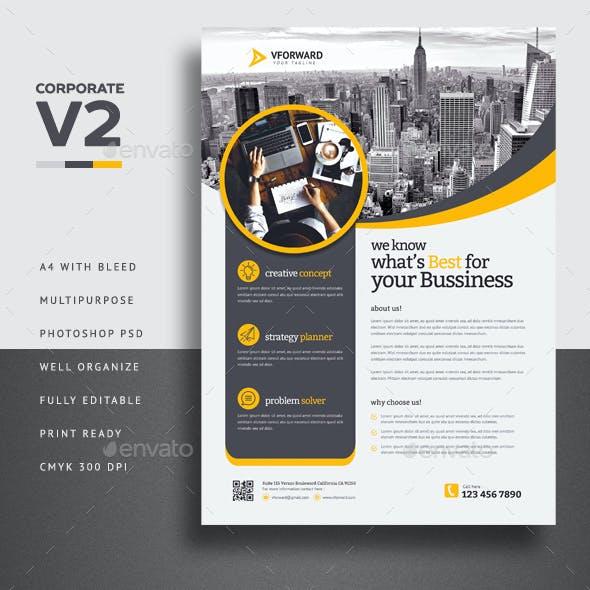 Corporate V2 Flyer