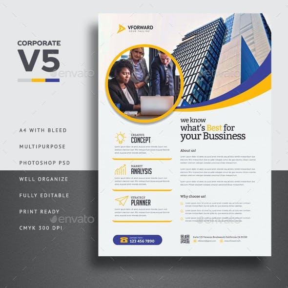 Corporate V5 Flyer