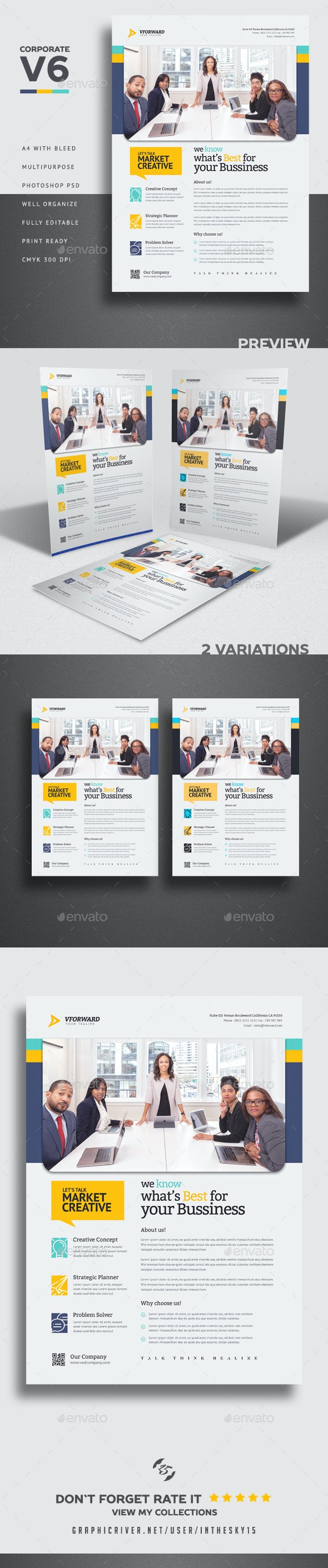 Corporate V6 Flyer - Corporate Flyers