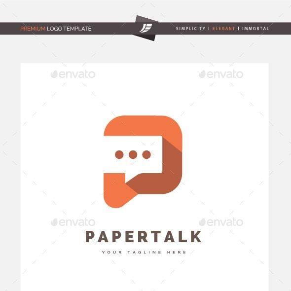 Paper Talk Logo