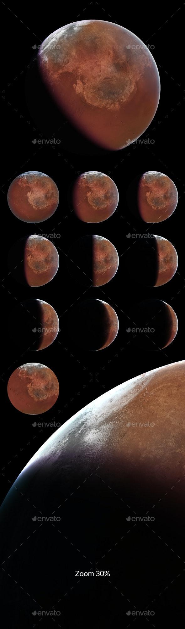 Planet Stock 19-3AGR - Illustrations Graphics