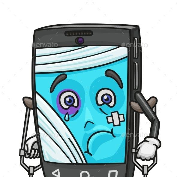Smartphone Broken and Needs Urgent Repair