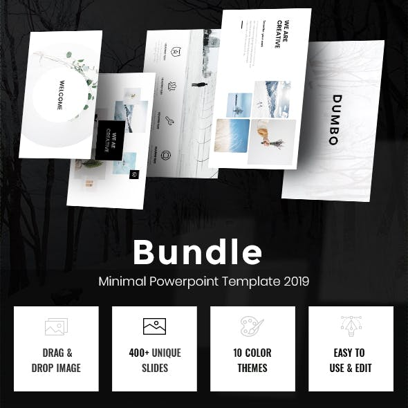 Minimal Powerpoint Bundle Template