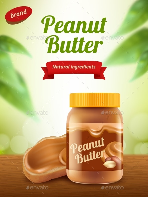 Peanut Butter Advertising - Food Objects