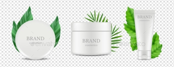 Vector Organic Cosmetics - Man-made Objects Objects