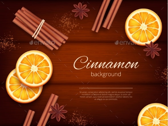 Cinnamon Background - Miscellaneous Vectors