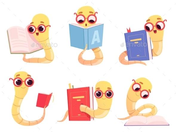 Bookworms Cartoon - Animals Characters