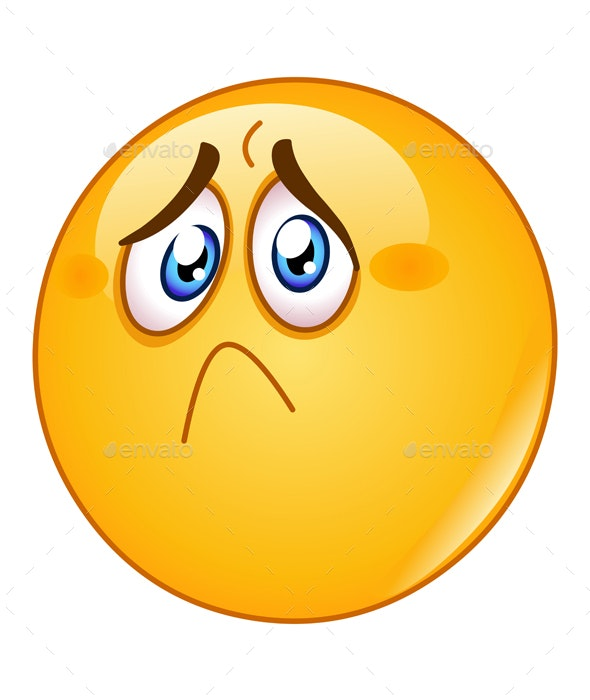 Hurt and Sad Emoticon - People Characters