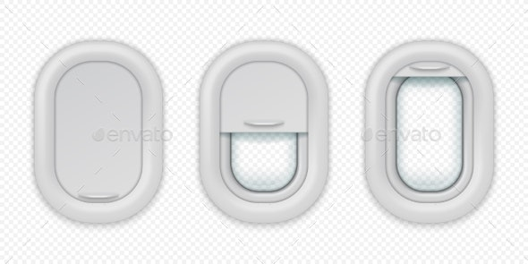 Airplane Windows - Miscellaneous Vectors