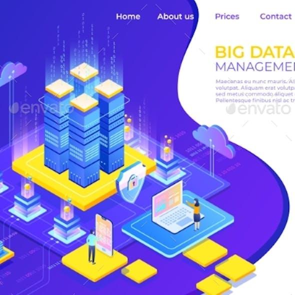 Database Isometric Concept