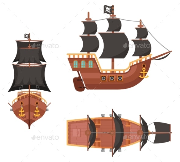 Wooden Pirate Buccaneer Filibuster Corsair Sea Dog - Man-made Objects Objects