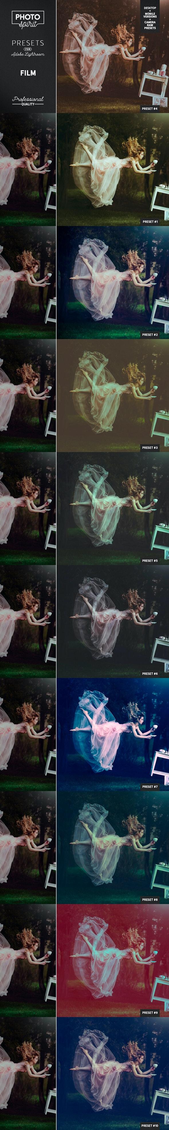 Film Presets DNG Mobile + Desktop + Camera RAW - Film Lightroom Presets