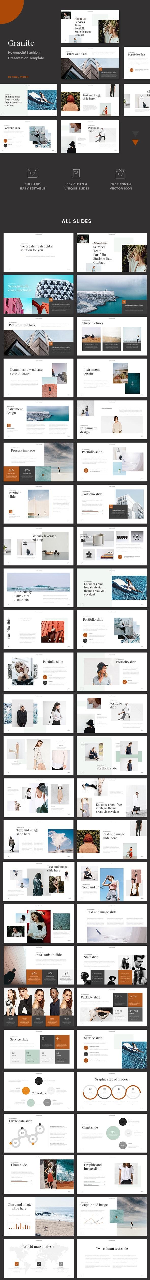 Granite - Powerpoint Presentation - PowerPoint Templates Presentation Templates