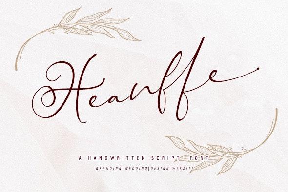 Heanffe - Hand-writing Script