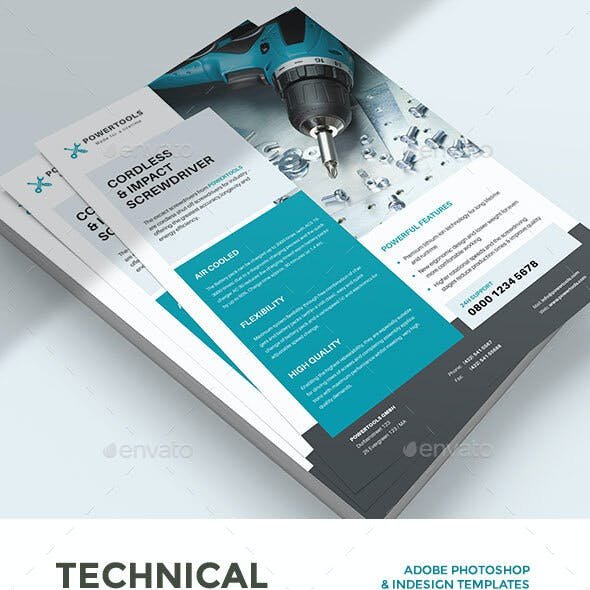 Technical Data or Product Sheet Vol. VI