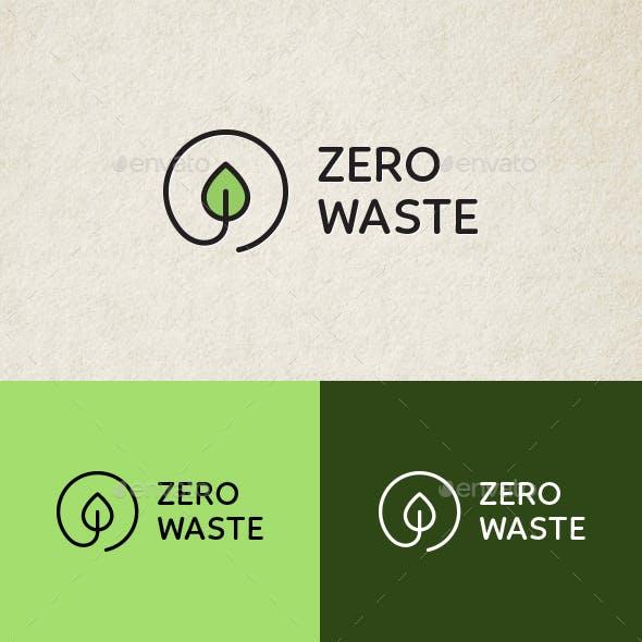 Zero Waste Eco Logo