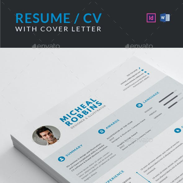 Resume / CV with Cover Letter