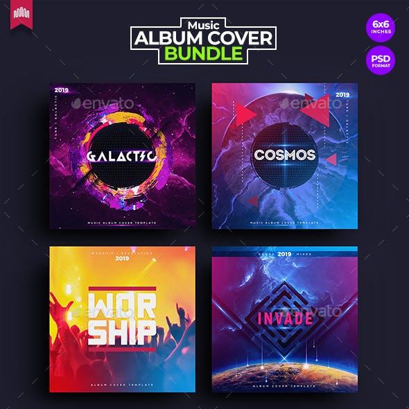 4in1 Music Album Cover - Bundle 4